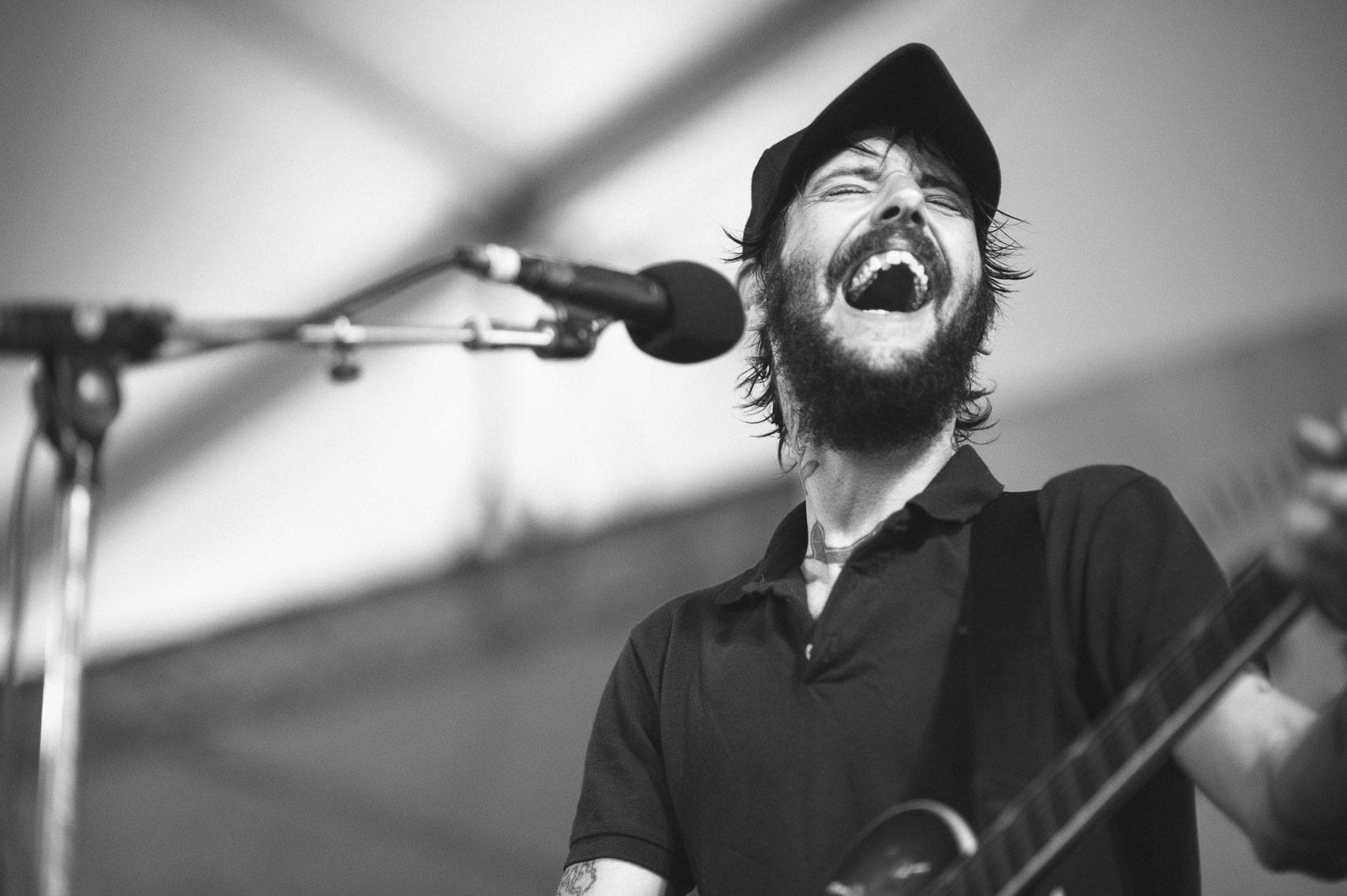 Iron-&-Wine-and-Ben-Bridwell-at-Newport-Folk