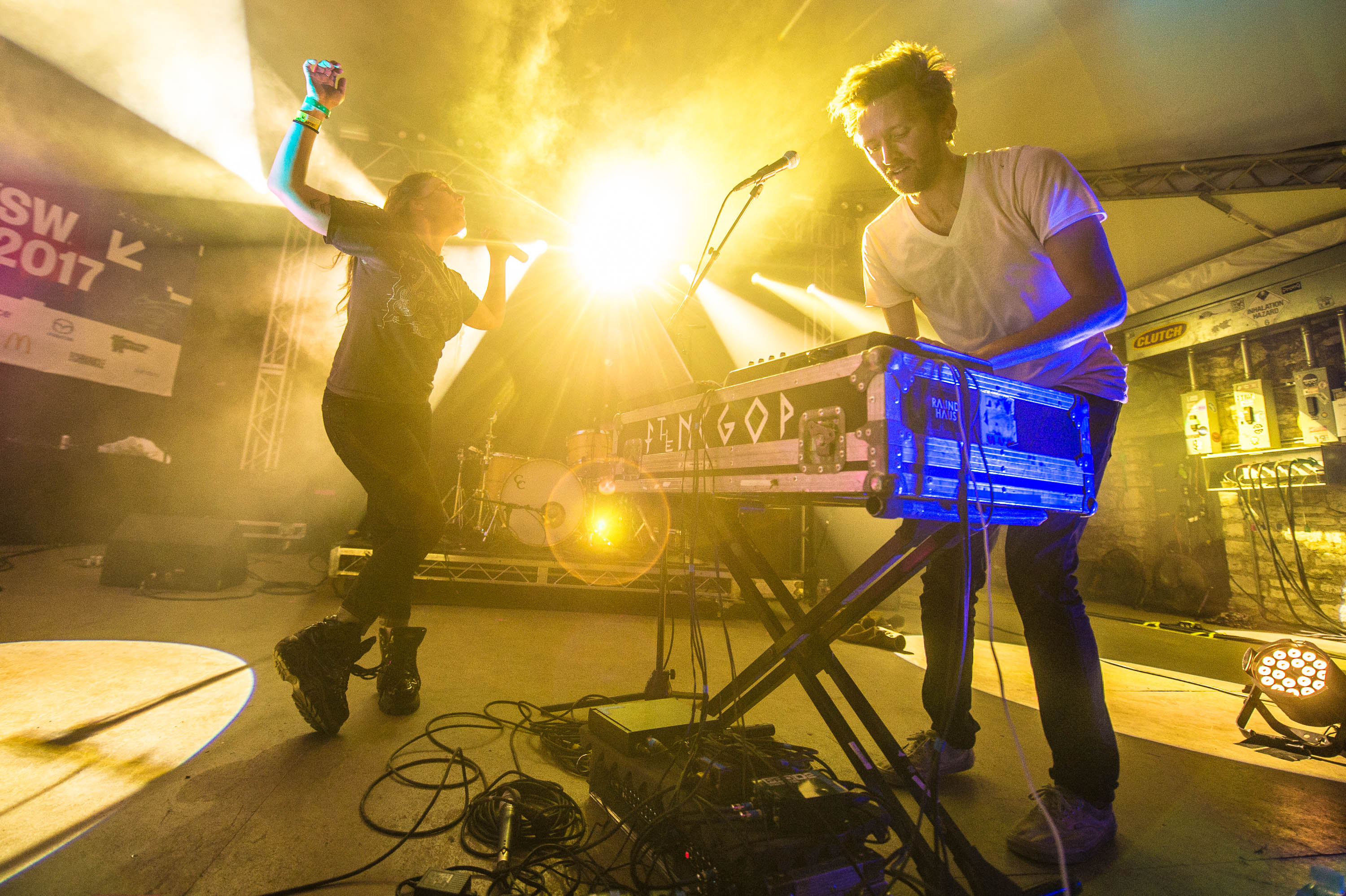 Sylvan Esso at SXSW 2017